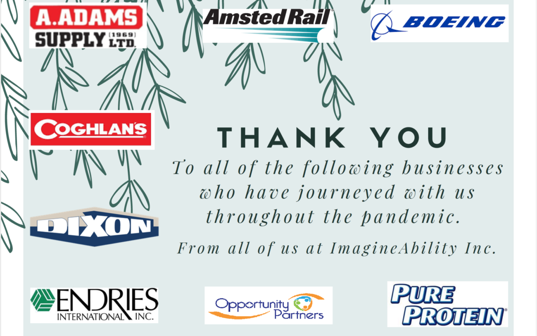 Thank you to the business that have journeyed with us…