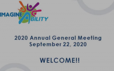 ImagineAbility Annual General Meeting September 2020